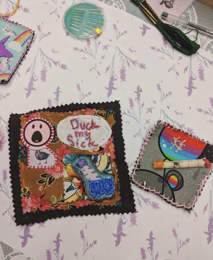 Bad Patches workshop in the UP Creative Community Hub